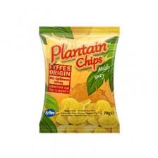 Chips de Bananes Plantain - Doux Épicé